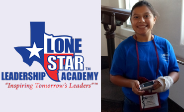 Goodnight Middle School student selected for Lone Star Leadership Academy